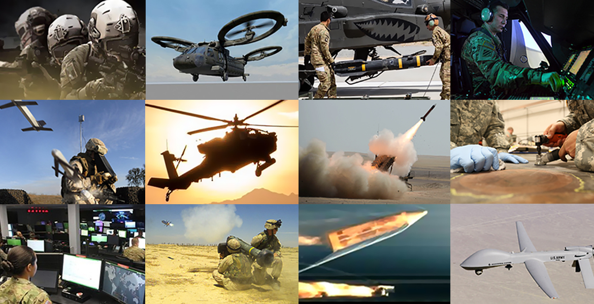 AMTC technology areas include guided missiles, manufacturing and eneablin/disruptive technologies and aviation.